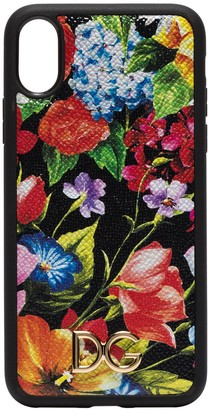 Dolce & Gabbana Multicoloured floral print iPhone X cover