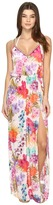 Nicole Miller La Plage By Braided Tank Maxi Cover-Up