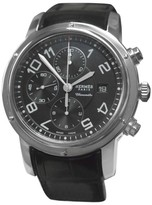 Hermes Paris Clipper CP1.910 Chronometre Date Stainless Steel Automatic 44mm Watch