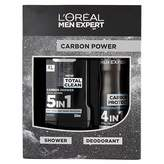 LOreal Paris Men Expert LOreal Men Expert Carbon Shower & Deodorant Gift Set