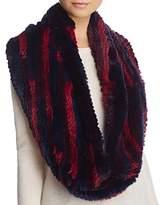 Jocelyn Rex Rabbit Knitted Infinity Scarf