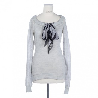 Louis Vuitton Grey Silk Top for Women