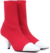 Neous Burkia leather-trimmed sock boots