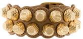 Balenciaga Giant Leather Stud Bracelet w/ Tags