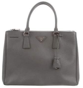 0a1aa4da8df8 Prada Saffiano Leather Lux Tote - ShopStyle