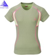 Vector Outdoor Running Gym Fitness Anti-UV Women's Quick-dry Short T Shirt