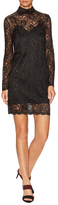 The Kooples Lace Scalloped Shift Dress