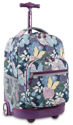J World Sunrise Rolling Backpack