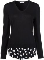 Altuzarra polka dot detail jumper