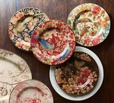Pottery Barn Sabyasachi Salad Plate, Mixed Set of 4 - Floral Bird
