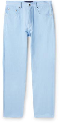 Noon Goons Glasser Garment-Dyed Denim Jeans - Men - Blue