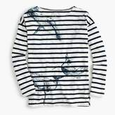 J.Crew for the Royal Ontario Museum whale T-shirt