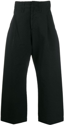 Craig Green wide leg cropped trousers