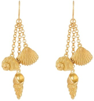 Aurélie Bidermann Aguas earrings