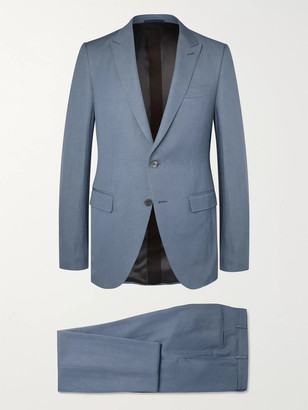 Ermenegildo Zegna Slim-Fit Wool And Linen-Blend Suit