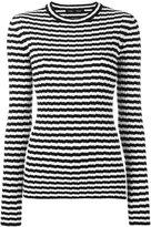 Proenza Schouler ribbed striped jumper - women - Silk/Cashmere - XS