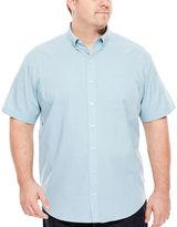 Van Heusen Short-Sleeve Easy-Care Woven Shirt - Big & Tall