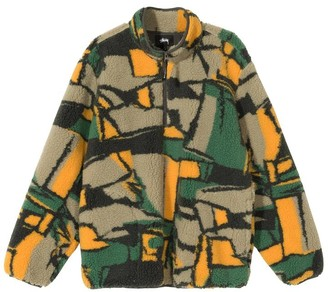 Stussy Block Sherpa Pullover - S