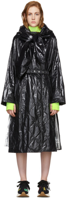 Moncler Genius 2 1952 Black Canberra Coat