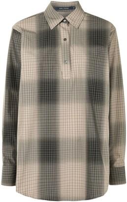Sofie D'hoore Short-Button Cotton Shirt