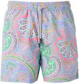 Etro paisley print swim shorts - men - Nylon - XL