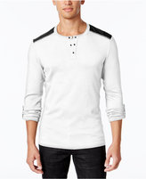INC International Concepts Men's Sym Henley, Only at Macy's