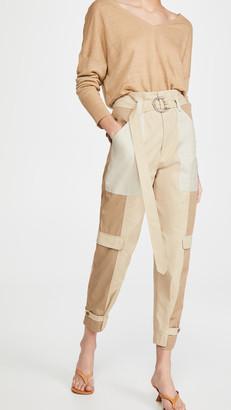 Frame Tonal Blocked Cargo Pants