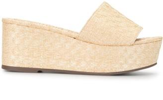 Schutz Vilena wedge sandals
