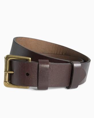 Southern Tide Leather ST Patch Belt