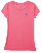 Polo Ralph Lauren Cotton-Blend Short-Sleeve Tee (2-7 Years)