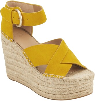 Marc Fisher Ankle Strap Espadrille Wedge