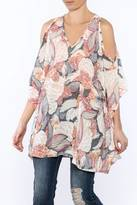Umgee USA Lightweight Floral Tunic Top