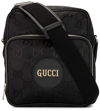 Gucci nylon GG Supreme embroidered messenger bag