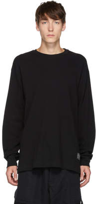 Song For The Mute Black Rock Logo Long Sleeve T-Shirt