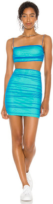 superdown Issa Mesh Skirt Set