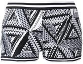 Missoni geometric knit shorts