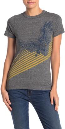 Chaser Vintage Eagle Basic Slim Fit T-Shirt