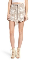 Astr Women's Embroidered Shorts