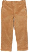 E-Land Kids Honey Brown 16-Wale Corduroy Pants - Boys