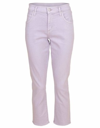 Citizens of Humanity French Lavender Elsa Mid Rise Slim Crop Jean