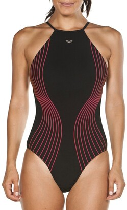 Arena Aura Cross-Strap Pool Swimsuit