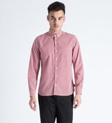 Gloverall Red Classic Check Shirt