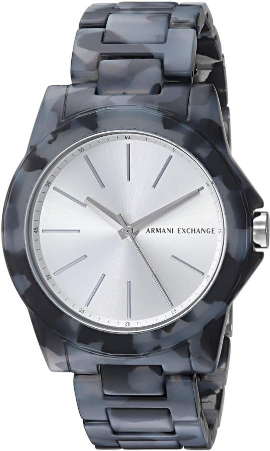 Armani Exchange A|X  Women's AX4343 and Grey Acetate Watch