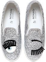 Chiara Ferragni 30mm Flirting Glitter Slip-On Sneakers