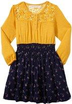Cupcakes & Pastries Knit Dress (Toddler/Kid) - Mango/Navy-10