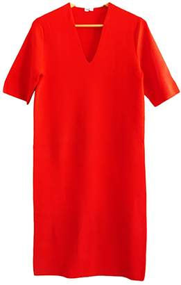 Uniqlo Red Cotton Dress for Women