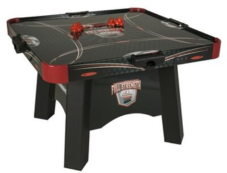 "Atomic Game Tables 47.5"" 4 Player Air Hockey Table with Manual Scoreboard and Lights"