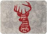 "Bungalow Flooring Christmas Deer Premium Comfort Mat - 22"" x 31"""