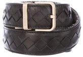 Bottega Veneta Reversible Intrecciato Belt