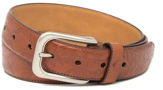 Tommy Bahama Drop Edge Stitch Embossed Belt